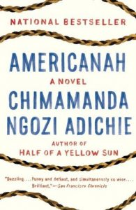 americanah by chimamanda ngozi adichie book cover