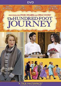 hundred foot journey dvd cover