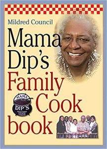 mama dips family cookbook by mildred council book cover