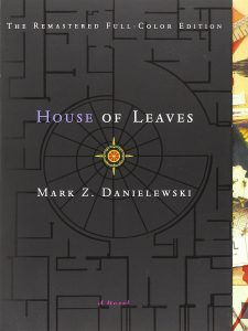 House of Leaves by Mark Z. Danielewski book cover