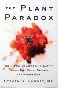 the plant paradox by steven gundry book cover