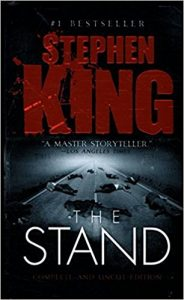 The Stand by Stephen King book cover