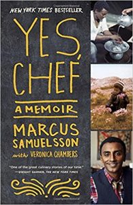 yes chef by marcus samuelsson book cover