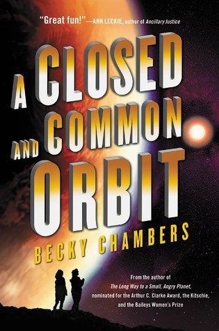 a closed and common orbit by becky chambers book cover