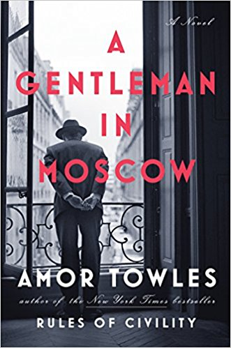 a gentleman in moscow by amor towles book cover