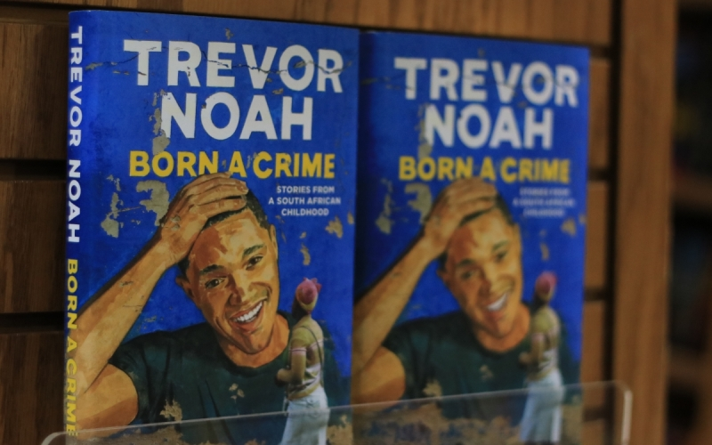born a crime stories from a south african childhood by trevor noah book cover