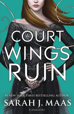 court of wings and ruin by sarah j. maas book cover