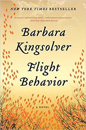 flight behavior by barbara kingsolver book cover