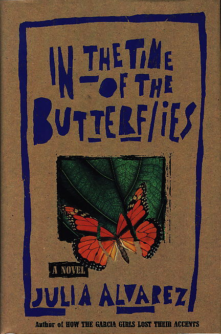 in the time of the butterflies by julia alvarez book cover