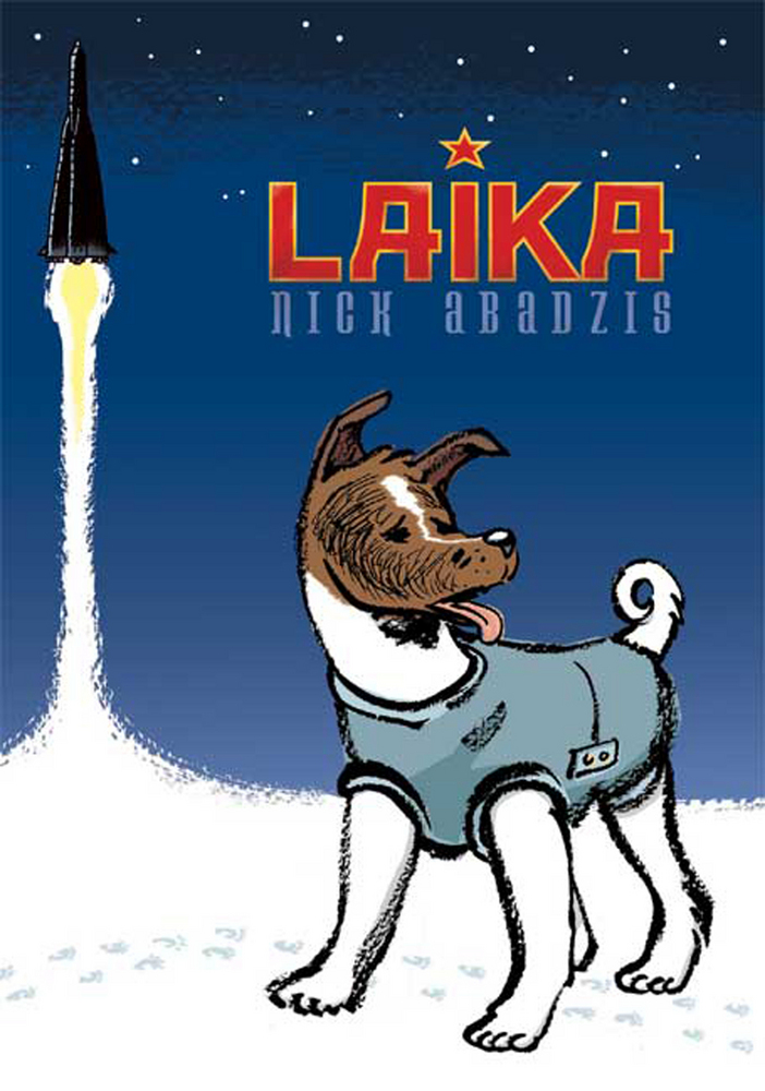 laika by nick abadzis book cover