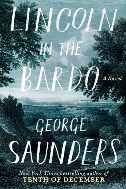 lincoln in the bardo by george saunders book cover