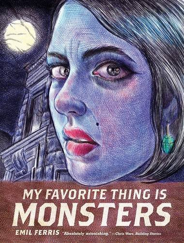 my favorite thing is monsters by emil ferris book cover