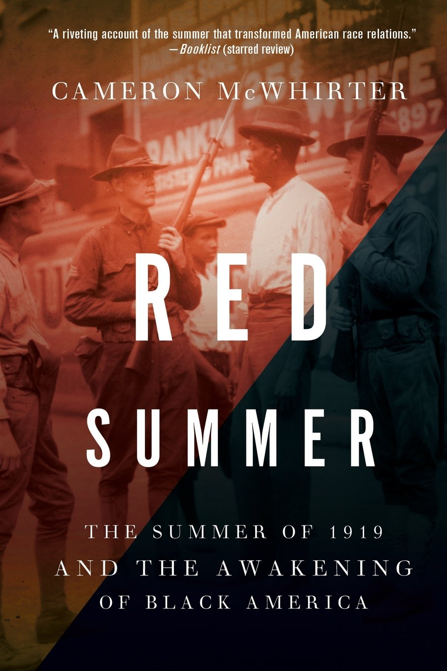 red summer the summer of 1919 and the awakening of black america by cameron mcwhirter book cover