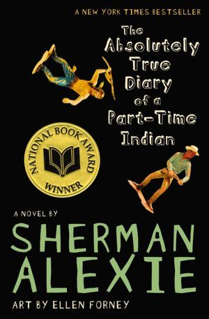 the absolutely true diary of a part-time indian by sherman alexie book cover