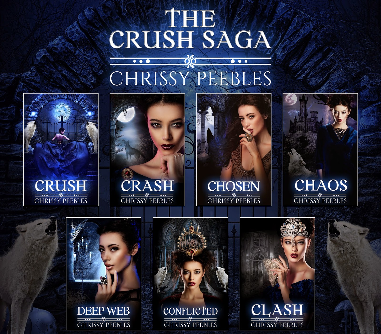 the crush saga by chrissy peebles
