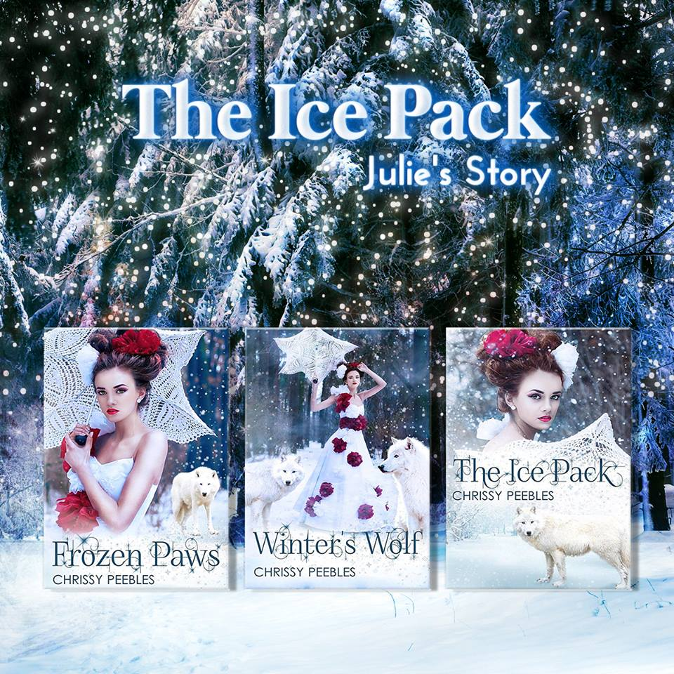 the ice pack series by chrissy peebles book covers
