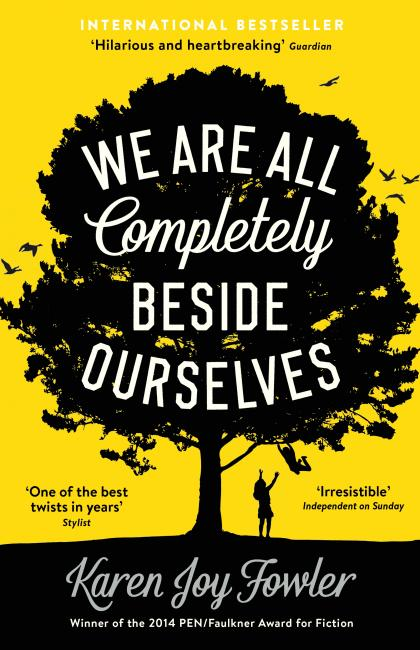we are all completely beside ourselves by karen joy fowler book cover