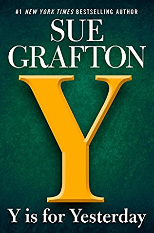 y is for yesterday by sue grafton book cover