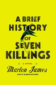 a brief history of seven killings by marlon james book cover