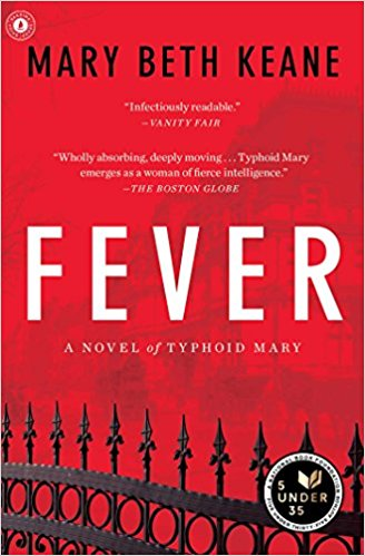 fever a novel of typhoid mary by mary beth keane book cover