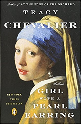 girl with a pearl earring by tracy chevalier book cover