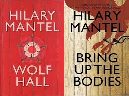 wolf hall and bring up the bodies by hilary mantel book covers