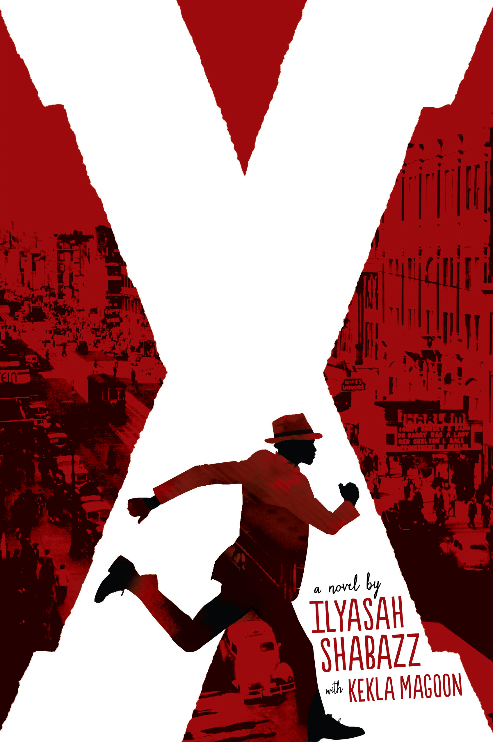 x a novel by ilyasah shabazz with kekla magoon book cover