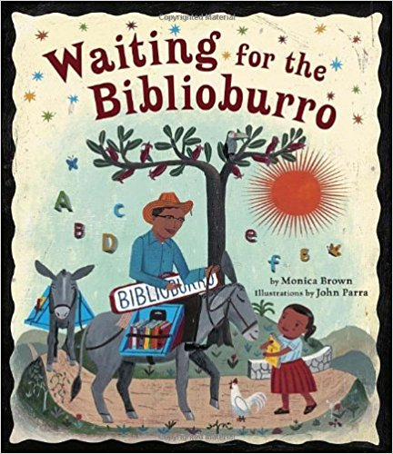 Waiting for the Biblioburro book cover