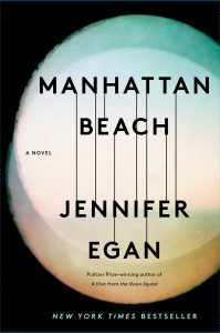 Manhattan Beach by Jennifer Egan book cover