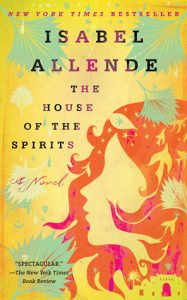 The House of the Spirits by Isabel Allende book cover