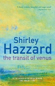 The Transit of Venus by Shirley Hazzard book cover