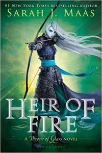 heir of fire by sarah j maas book cover