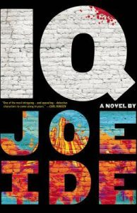 iq a novel by joe ide book cover