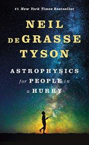 Astrophysics for People in a Hurry by Neil deGrasse Tyson book cover