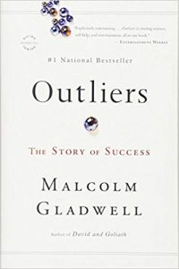 Outliers: The Story of Success by Malcolm Gladwell book cover