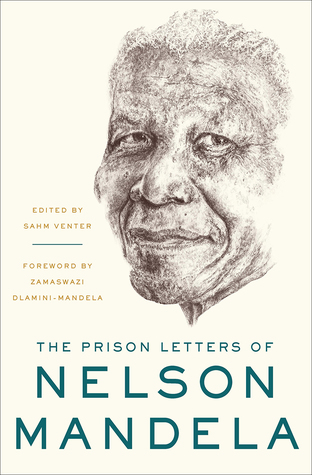 Sketch of Nelson Mandela's face.