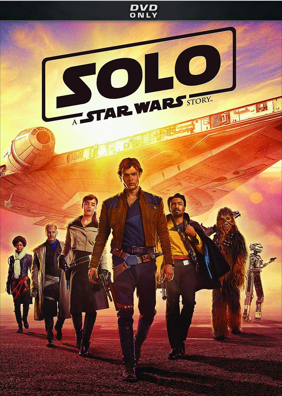 Han Solo leading a group in formation.
