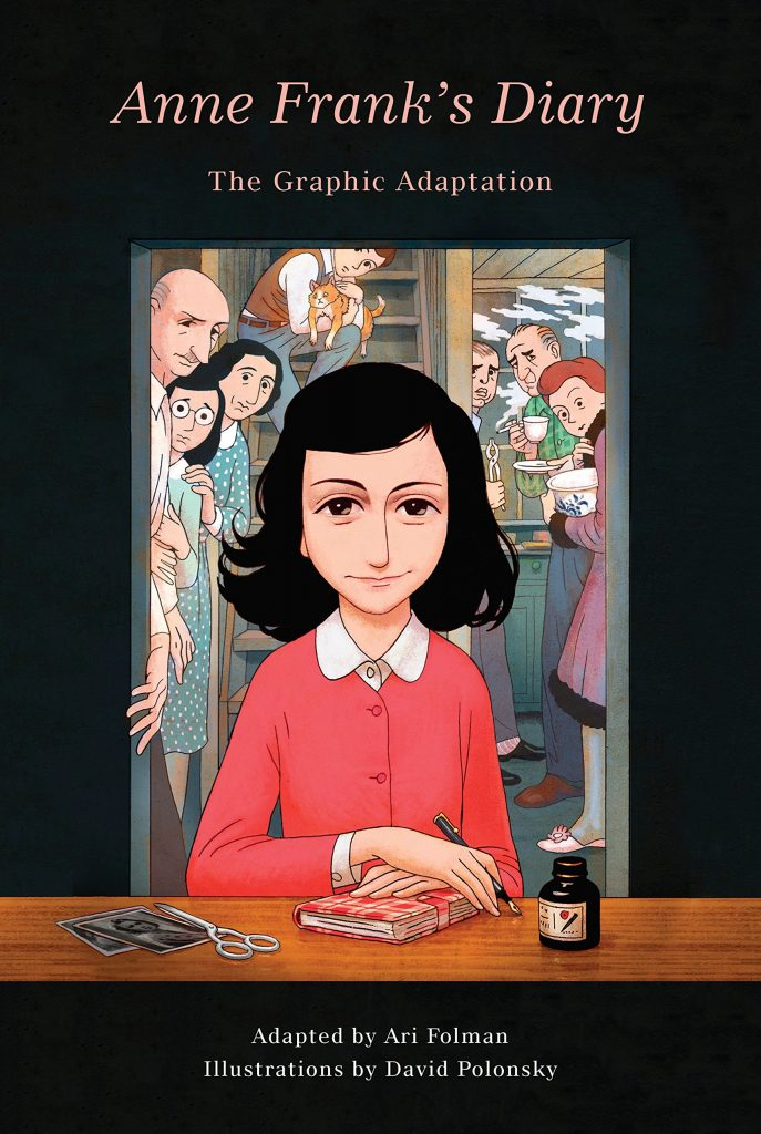 Anne Frank's Diary: The Graphic Adaptation Adapted by Ari Folman