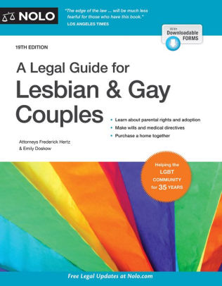 Legal Guide for Lesbian and Gay Couples book cover