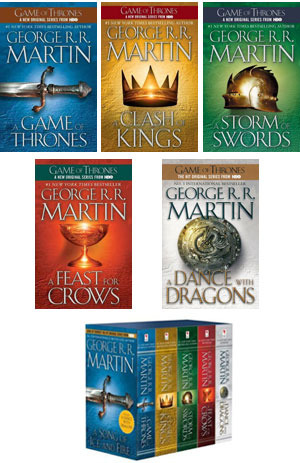 A Song of Ice and Fire Series by George R R Martin