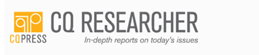 CQ Researcher: In-depth reports on today's issues