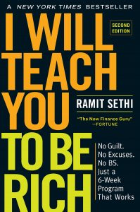 I Will Teach You To Be Rich by Ramit Sethi, Second edition